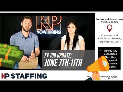 Job Update: June 7th-11th